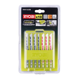 Set lame per seghetto alternativo RYOBI in acciaio e carbonio L 102 mm