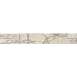 Battiscopa Murailles H 7 x L 61.5 cm bianco