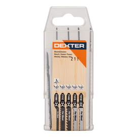 Lama per seghetto alternativo DEXTER in hcs L 122 mm 5 pezzi