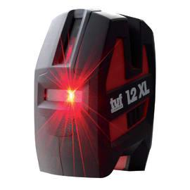 Livella laser SPEKTRA PT 1.2 XL e treppiede TP Light rosso