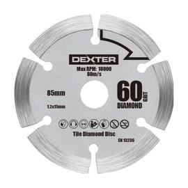 Disco di taglio DEXTER POWER Ø 85 mm
