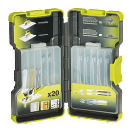 Set lame per seghetto alternativo RYOBI in acciaio e carbonio L 100 mm
