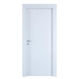 Porta a battente Renoir bianco venato L 60 x H 210 cm reversibile