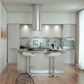 Cucina in kit DELINIA newport bianco