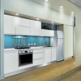 Cucina in kit DELINIA tony bianco