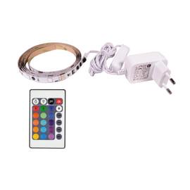 Striscia led 1.5m luce rgb 160LM IP20