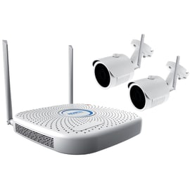 Kit di videosorveglianza Wi-Fi NVR + cam