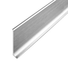 Battiscopa H 6 x L 200 cm argento