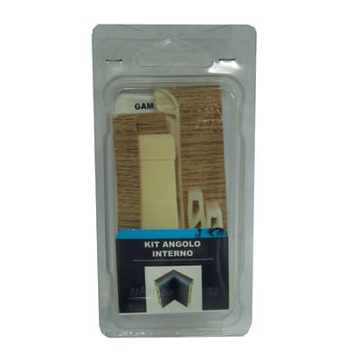 Angolare interno in kit kit angolo interno battiscopa 7011 rovere spazzolato 5 x Sp 20 mm