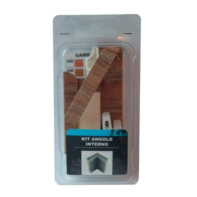 Angolare interno in kit miele 5 x 11 cm Sp 20 mm