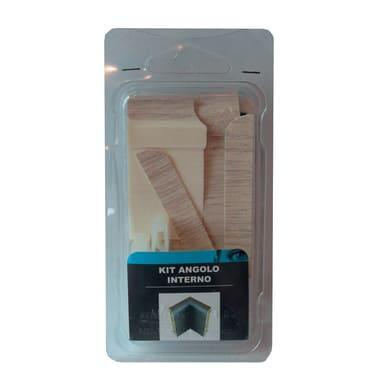 Angolare interno in kit kit angolo interno battiscopa 7011 rovere white 5 x Sp 20 mm