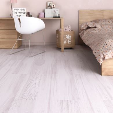 Pavimento laminato Yali Sp 8 mm grigio / argento
