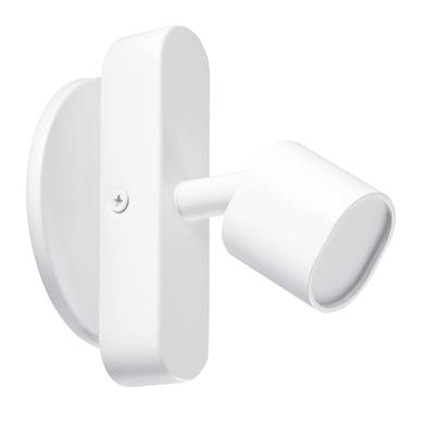 Faretto completo Flut bianco, in ferro, LED integrato 5.0W 220LM IP20 INSPIRE