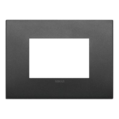 Placca VIMAR Arké Classic 3 moduli grafite matt