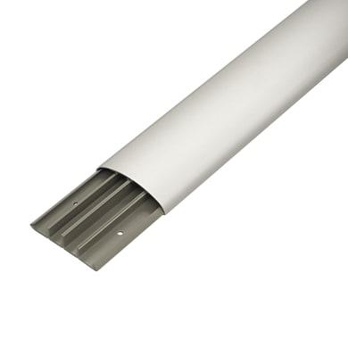 Canalina gtl KP1873A 200 x 1.8 x 7.5 cm grigio / argento
