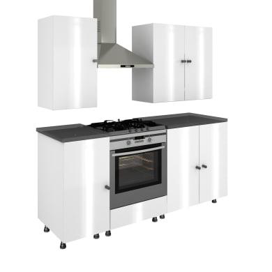 Cucina in kit bianco L 484 cm