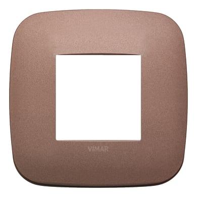 Placca VIMAR Arké 2 moduli bronzo matt