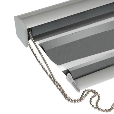 Tenda a rullo Platinium Mad argento 100 x 250 cm