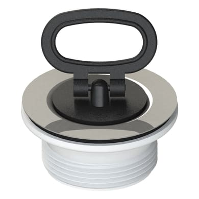 Piletta standard in ceramica per lavello e lavabo Ø 65 mm