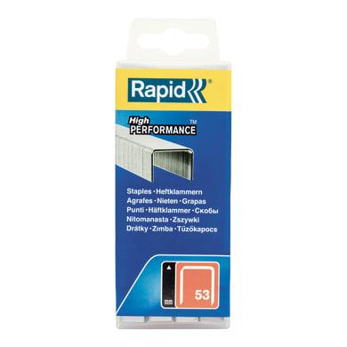 Graffe RAPID L 0.75 mm H 0.6 cm 5000 pezzi