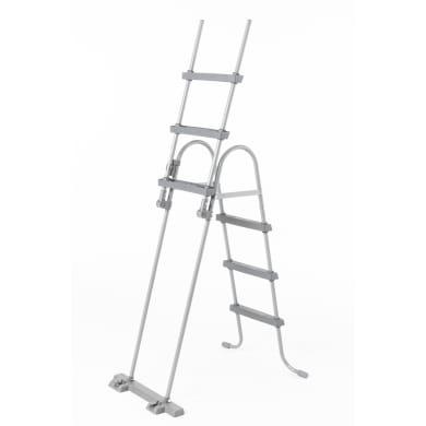 Scaletta per piscina fuori terra in acciaio Bestway 7 gradini 139 cm