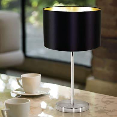 Lampada da tavolo Glamour Maserlo oro , in tela, EGLO
