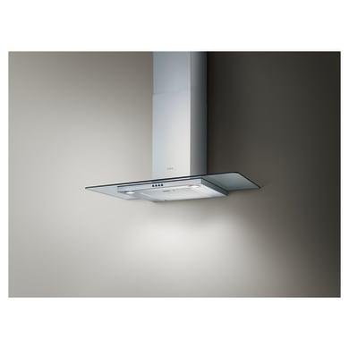 Cappa a parete Flat Glass IX/A/90 ELICA  inox L 90 cm