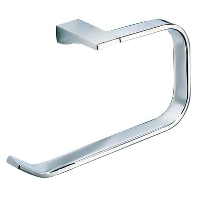 Porta salviette ad anello Glamour cromo cromato L 3.2 cm