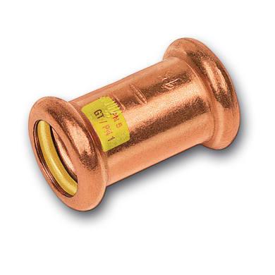 Raccordo dritto per impianto gas Ø D.22 mm