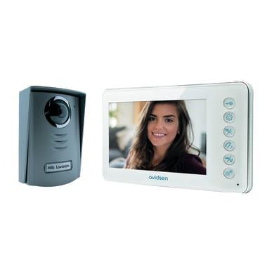 Videocitofono con filo monofamiliare  AVIDSEN Ilva 2 fili