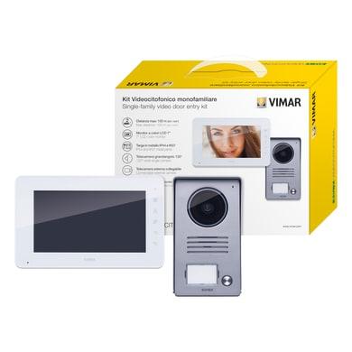 Videocitofono con filo monofamiliare  ELVOX VIMAR K40910 2 fili