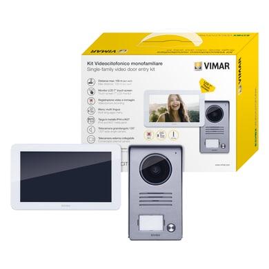 Videocitofono con filo monofamiliare  ELVOX VIMAR K40915 2 fili