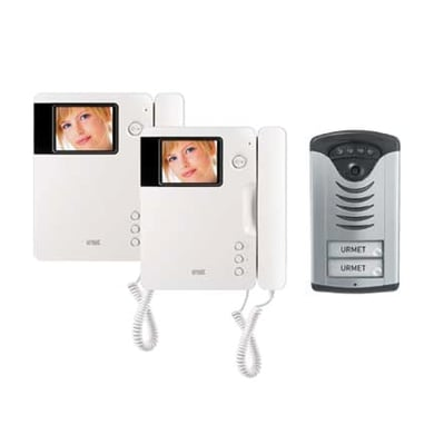 Videocitofono con filo bifamiliare  URMET 956/72 6 fili
