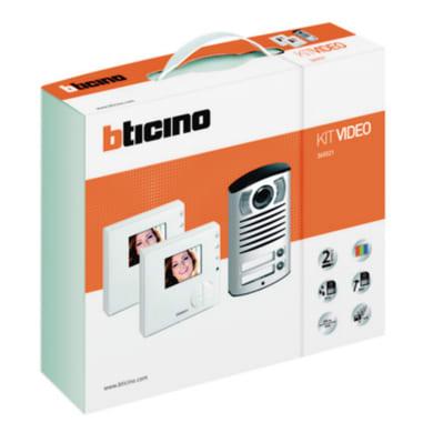 Videocitofono con filo bifamiliare  BTICINO 365521 2 fili