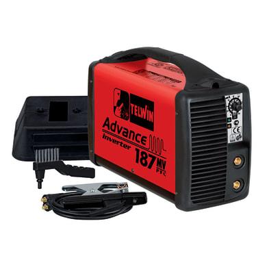 Saldatrice inverter TELWIN Advance 187 MV/PFC mma, tig 150 A 5000 W