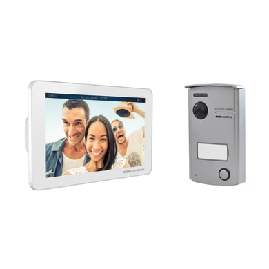 Videocitofono wireless a parete SCS SENTINEL VisioDoor 7+ Slim