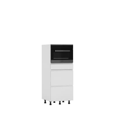 Semicolonna Tokyo bianco L 60H 138 x P 58 cm