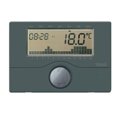 Cronotermostato VIMAR elettronico 01910 antracite