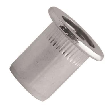 Rivetti in acciaio L 0.9 x H 0.5 mm Ø 0.5 mm 40 pezzi