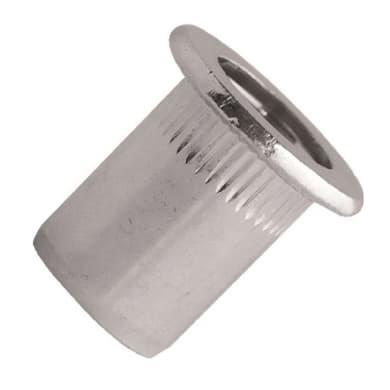 Rivetti 40 RIVETTI FILETTATI M4 ACCIAIO in acciaio L 0 x H 0 mm Ø 4 mm 40 pezzi