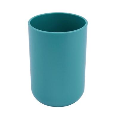 Bicchiere porta spazzolini Easy in plastica verde
