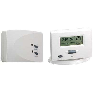 Cronotermostato GBC 49693550 bianco