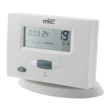 Cronotermostato MELCHIONI MK722 wireless bianco