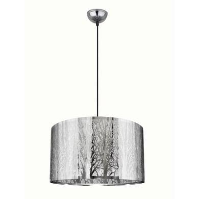 Lampadario Forest cromo, in metallo, diam. 40 cm, E27 3xMAX60W IP20 INSPIRE