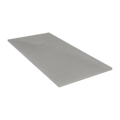 Piatto doccia ultrasottile resina Cosmos Stone 100 x 180 cm grigio