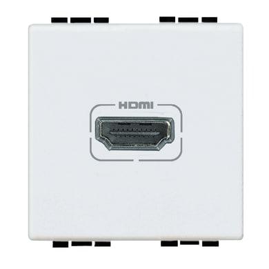 Connettore hdmi BTICINO Living light bianco