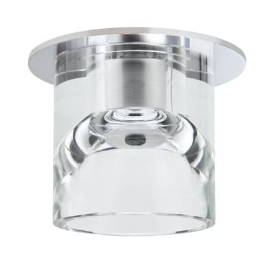 Faretto fisso da incasso tondo Glassy tube  in Vetro bianco, diam. 8.3 cm G4 MAX20W IP20