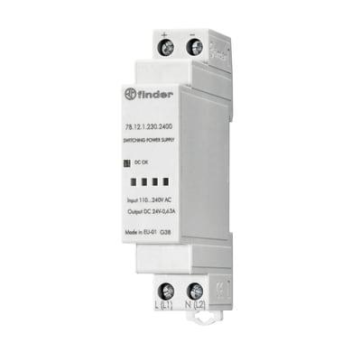 Alimentatore FINDER 781212302400 1 modulo 12V IP20 4 mm²