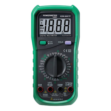 Multimetro KDM-360CTF