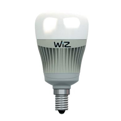 Lampadina LED E14 goccia colore cangiante 7.5W = 400LM (equiv 35W) 120° WIZ